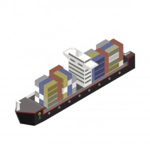 conteneur-navire-isole-fond