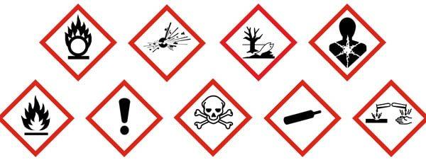 produits dangereux logo
