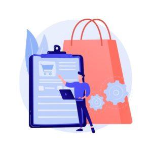 programme-suivi-commandes-service-pratique-liste-courses-contenu-du-panier-forfait-achat-logiciel-mobile-application-smartphone