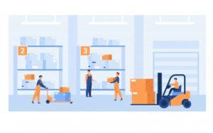 travailleurs-logistiques-transportant-caisses-chargeurs